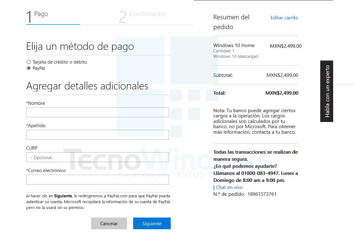 Dónde comprar Windows 10 1