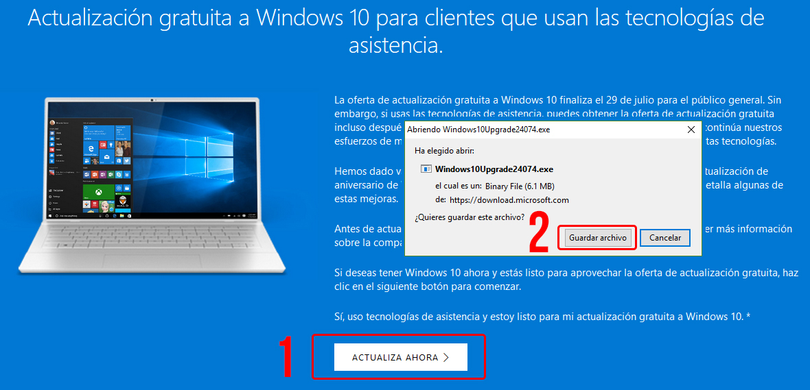 Actualizar Windows
