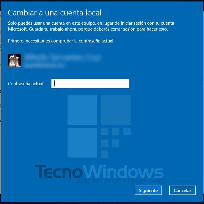 Cómo quitar la contraseña en Windows 10 4