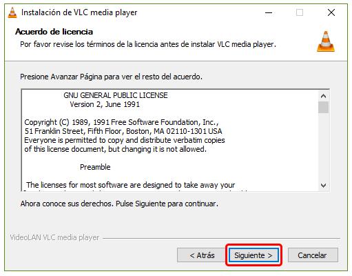 Cómo instalar VLC en Windows 10 1