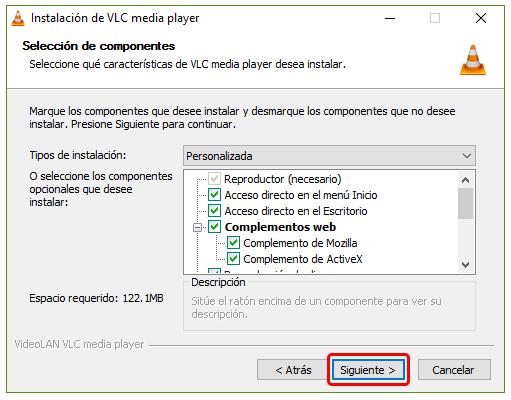Cómo instalar VLC en Windows 10 2
