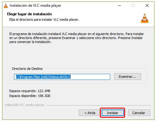 Cómo instalar VLC en Windows 10 3