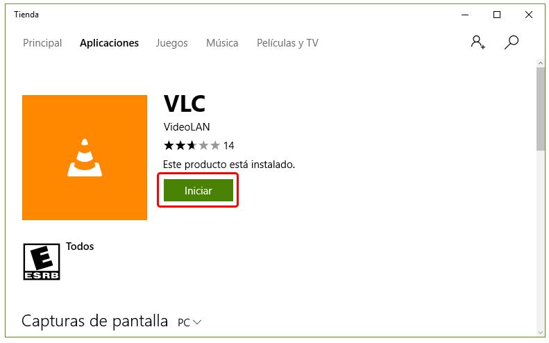 Cómo instalar VLC en Windows 10 7
