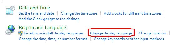 cambiar idioma