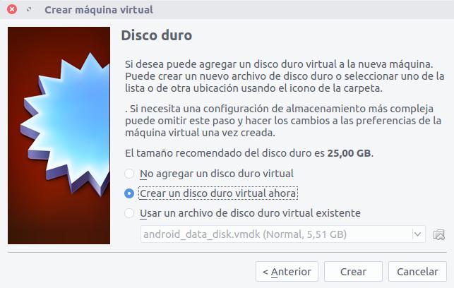 disco duro virtual