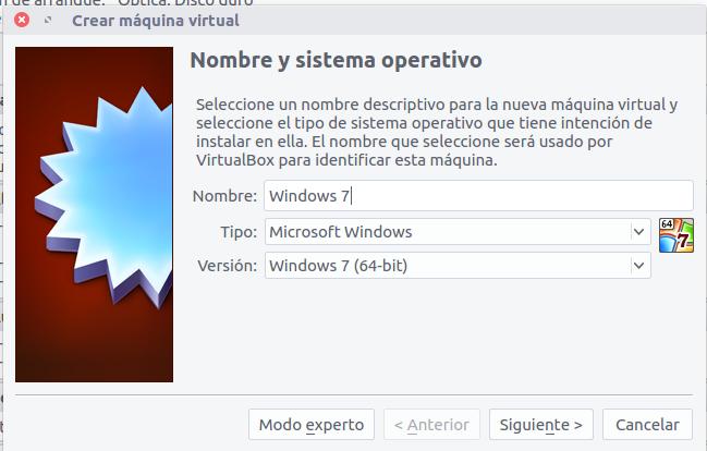 nombre del sistema operativo