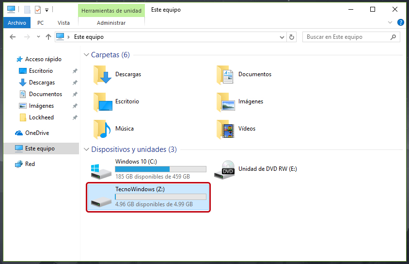Cómo hacer una partición en Windows 10