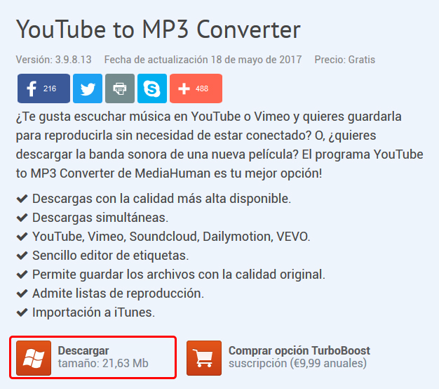 Cómo Descargar Música De Youtube En Mp3 Tecnowindows