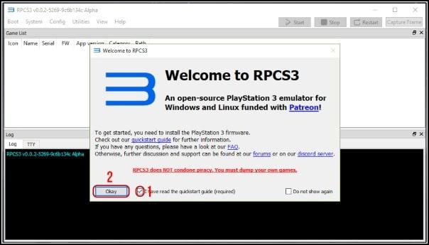 abrir RPCS3