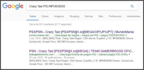 descargar juegos PS3