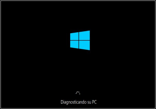 Diagnosticando PC, Windows 10