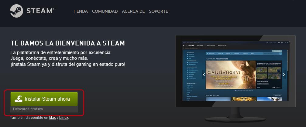 Mejores juegos para Windows 10 en Steam