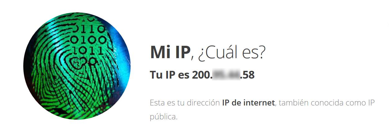 Cómo saber cuál es mi IP en Windows 10