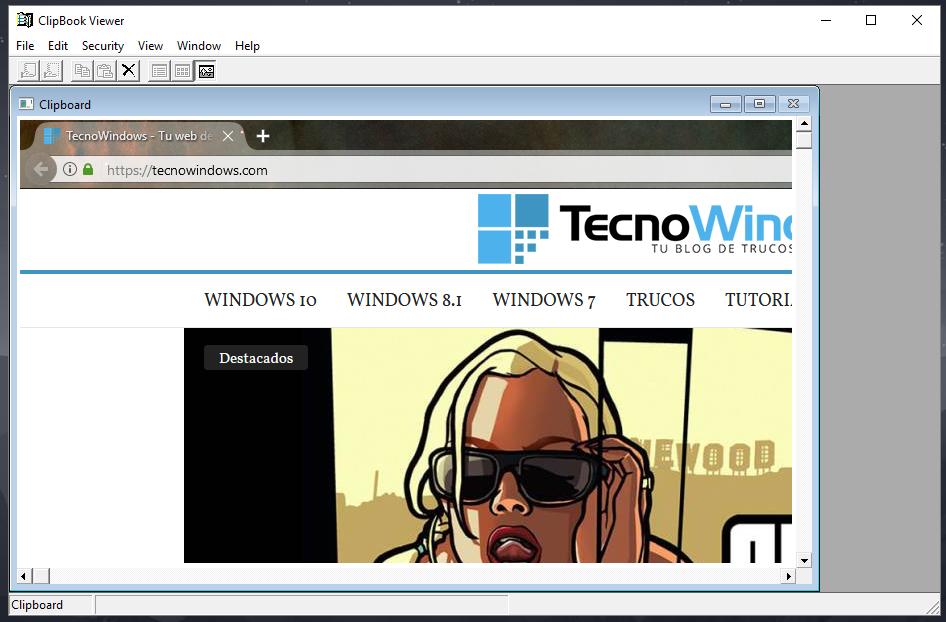Cómo entrar al portapapeles de Windows 10