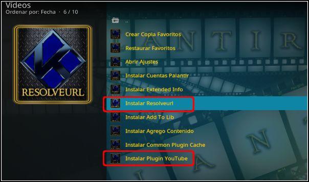 instalar Plugin ResolveURL