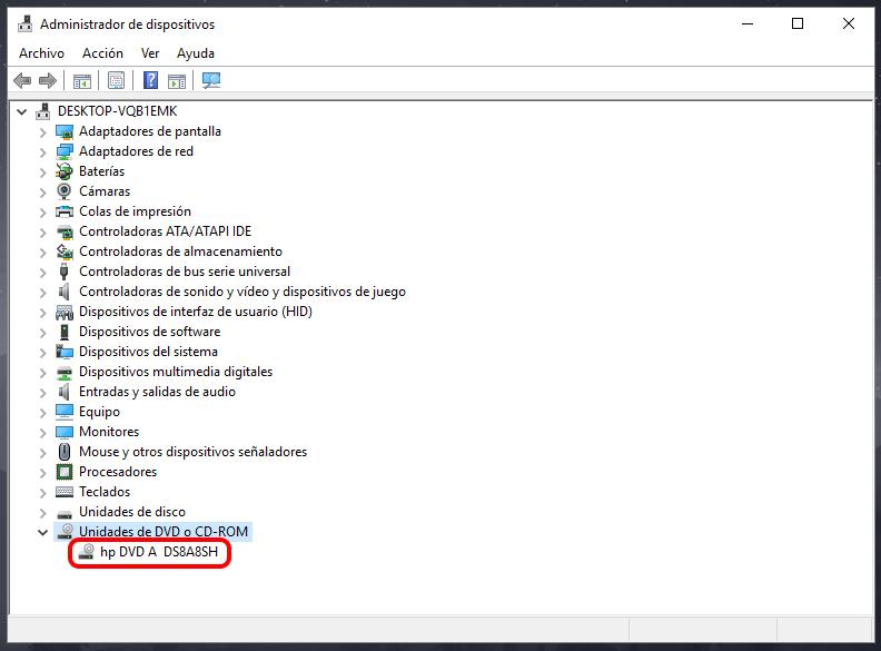 Por qué Windows 10 no reconoce unidad de DVD: Solución