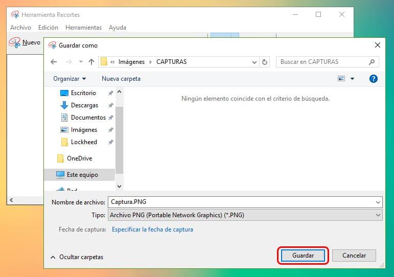 Cómo capturar la pantalla de Windows 10 1