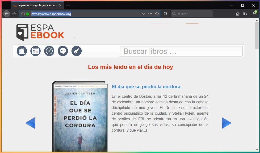 Espaebook no funciona 2019: Alternativas