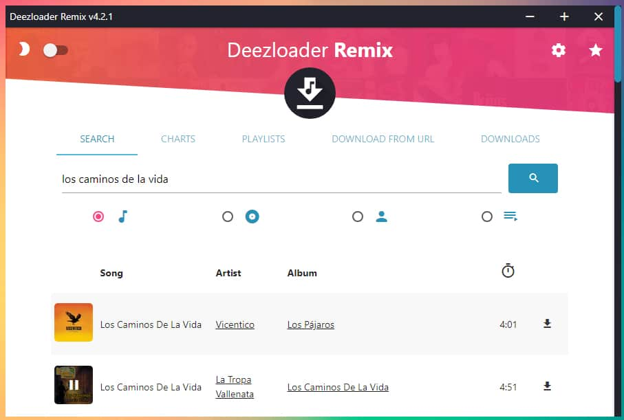 Descargar e instalar Deezloader Remix para Windows 10 (Abril 2019)