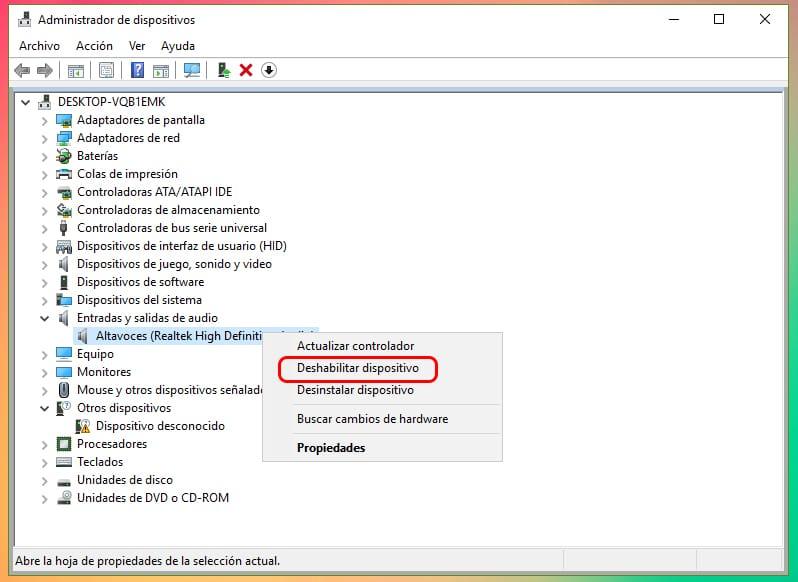 Cómo activar y desactivar el micrófono en Windows 10
