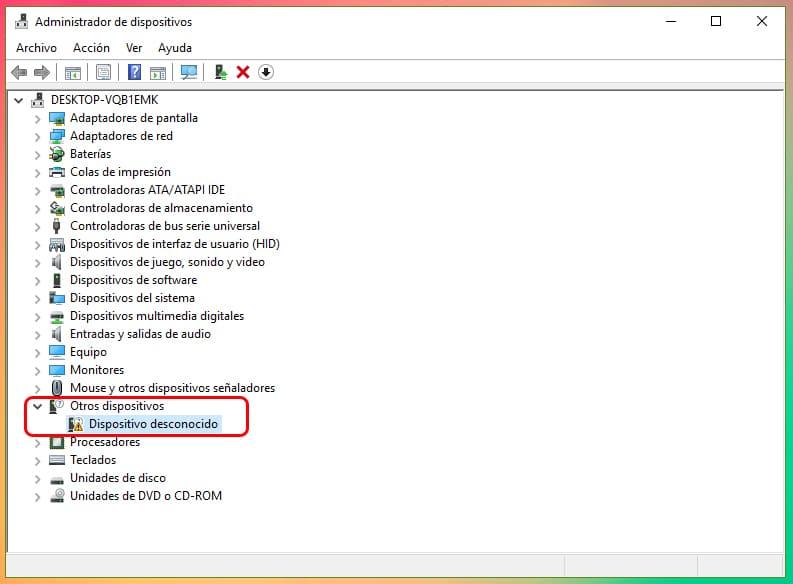 No se reconoce el dispositivo USB en Windows 10: Solución 1