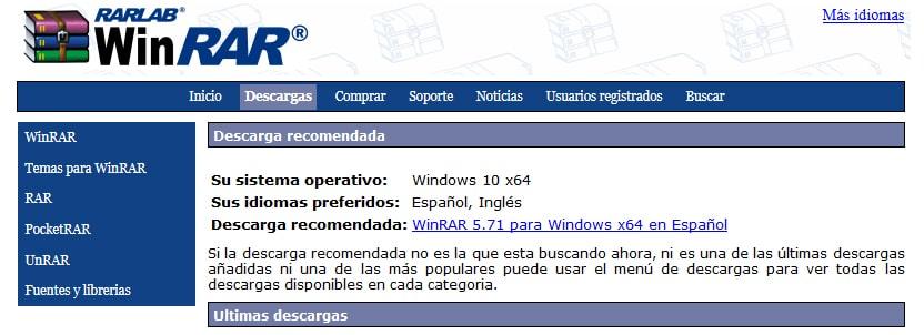 Cómo abrir archivos RAR en Windows 10