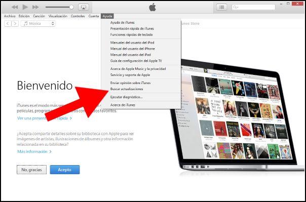 actualizaciones iTunes
