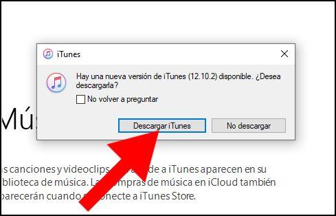nueva versión iTunes