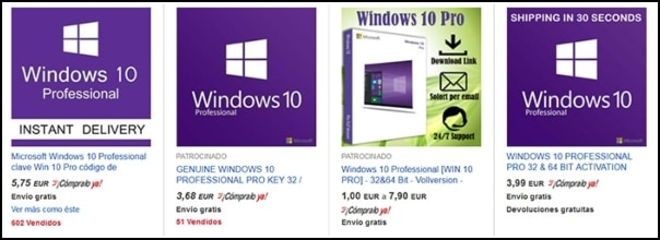 licencia Windows 10 barata