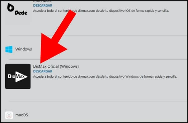 descargar DixMax para Windows