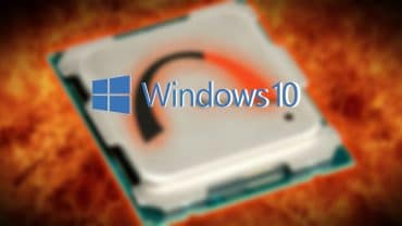 temperatura CPU Windows 10